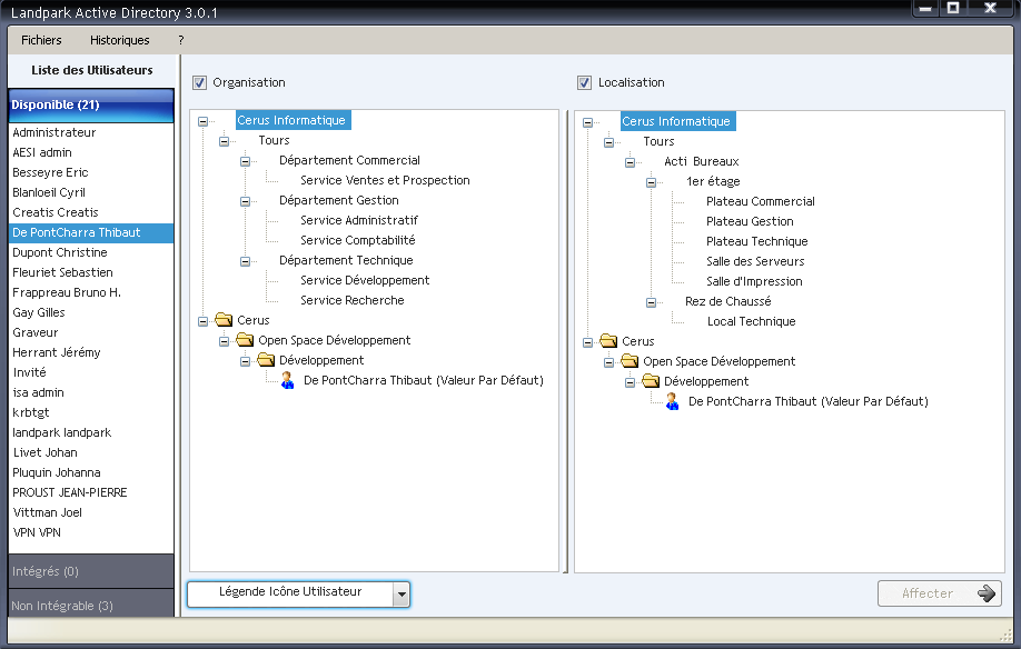 LANDPARK ACTIVE DIRECTORY/OPENLDAP screenshot